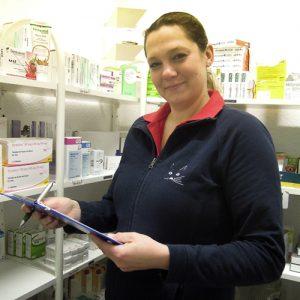 Julia Lesicar (Tiermedizinische Fachhelferin)